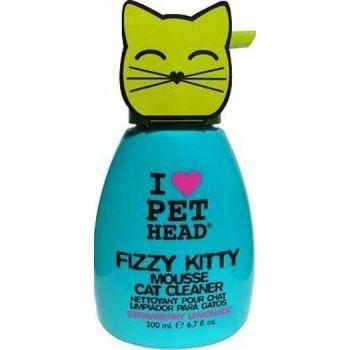 Pet Head TPHC6 Fizzy Kitty Mousse Strawberry Lemonade 190ml