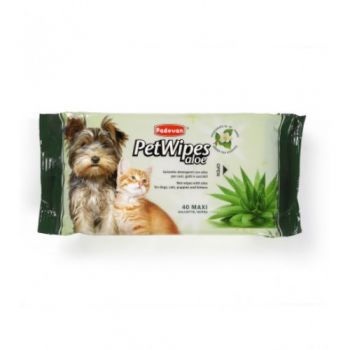 Padovan Pet Wipes  ALOE (40 PCS)