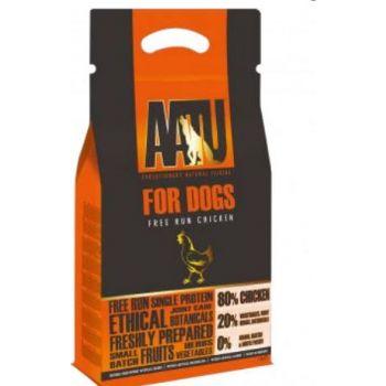 AATU Free Run Chicken for Dogs 1KG