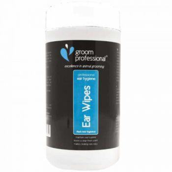 Groom Professional Ear Wipes Pet Ear Hygiene & Care - 50 Wipes
