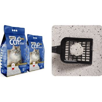 Patimax Cat Litter Clumping Sand  (LAVANDER) 12L