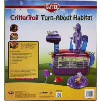 KT Crittertrail Dazzle Turnabout Habitat