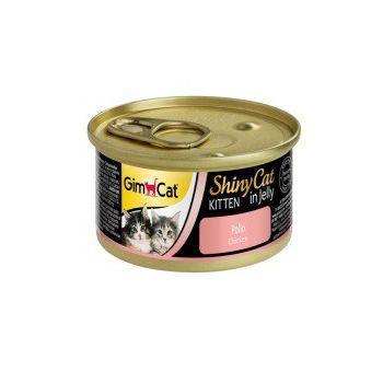 GimCat Shinycat Kitten Chicken 70g