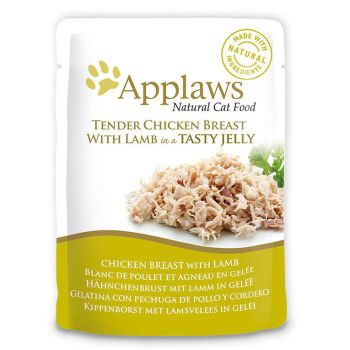 Applaws Cat Wet Food Chicken with Lamb 70g Jelly Pouch