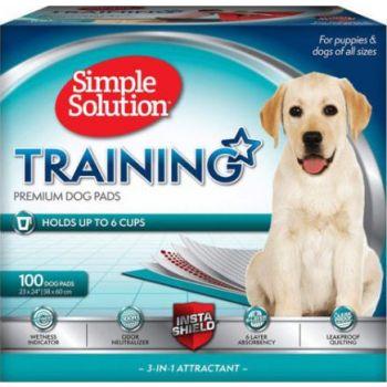 "Simple Solution Premium Training Pads (Pack of 100)23""x24"""