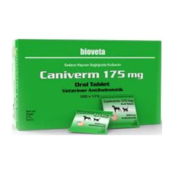 Caniverm Tablet Green Per 2kg