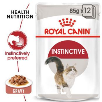 Royal Canin Wet Food  Instinctive for adult cats (pouches)85G