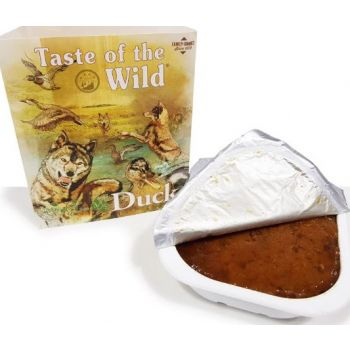 Taste Of The Wild Wet Food DUCK Fruit & Veg Tray 390G