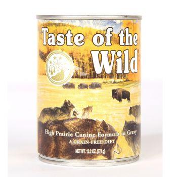 Taste Of The Wild Wet Dog Food High Prairie Canine 375gr