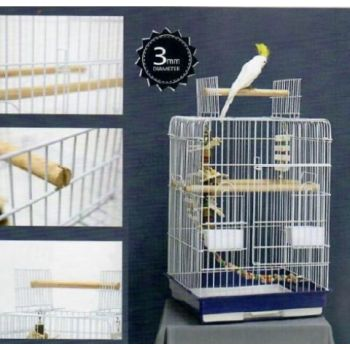 DAYANG BIRD CAGE (MEDIUM): SIZE:47×47×66 cm