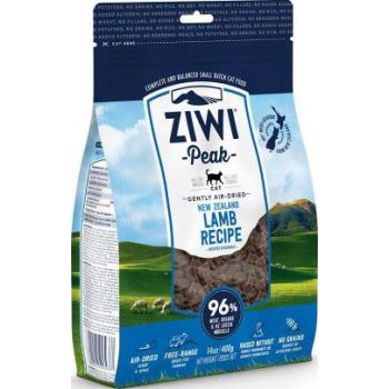 ZiwiPeak Air Dried Lamb Recipe Cat Food 400g