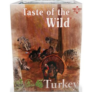 Taste Of The Wild Wet Food TURKEY Fruit & Veg Tray 390G
