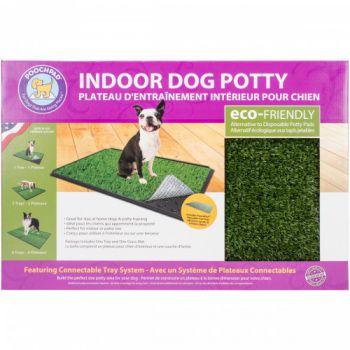 "Pooch Pad CLASSIC PLUS - INDOOR TURF DOG POTTY - 24"" L X 16"" W X 1"" H"
