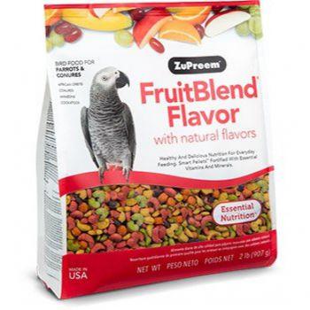 FruitBlend Flavor Medium & Large Parrot Food 2lb