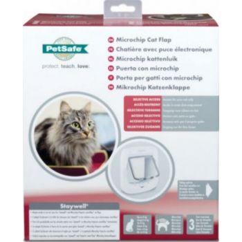 Pet Safe Microchip Cat Flap White-2019 Model