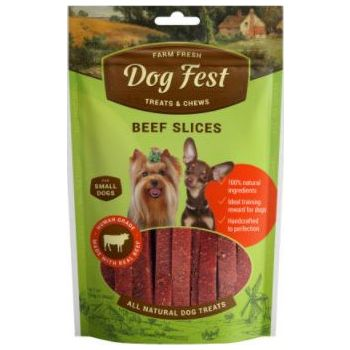 Dog Fest Beef slices for mini-dogs - 55g (1.94oz)