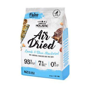 Absolute Holistic Air Dried Cat Diet - Blue Mackerel & Lamb 500g
