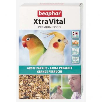 XTRAVITAL Large Parakeet 1kg (NEW FORMULA)