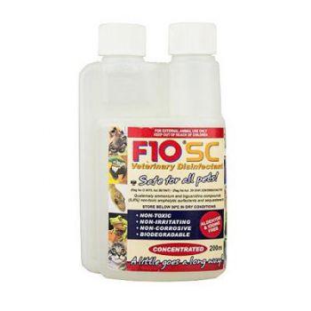 F10 SC Vet Disinfectant 200ml