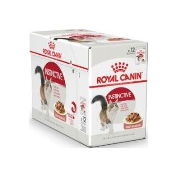 Royal Canin Cat WET FOOD - INSTINCTIVE FOR ADULT CATS (POUCHES)box of 12x85g