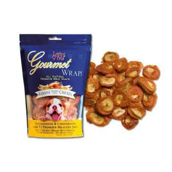Loving Pets Gourmet Banana & Chicken Wraps (Buy 1 Get 1 Free)