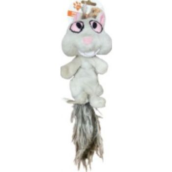 PAW PALS BIG EYES SQUIRREL DOG TOY-SM-PDB422