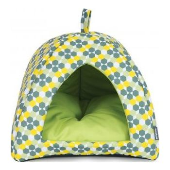 Empets Cat  House With Cushion 34x34x27h (I01M)