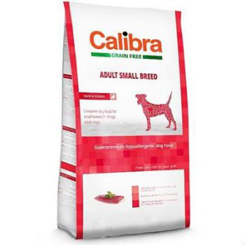 Calibra Sp Dry Dog Grain Free Adult Small Breed Duck 2Kg
